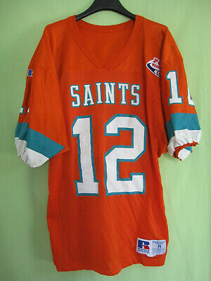 Maillot SAINTS Pop Warner Match jersey Football americain Russell athletic - M