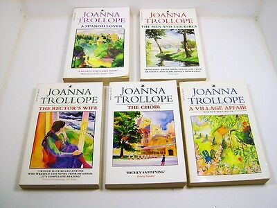 Joanna Trollope Lot Of 5 Books
