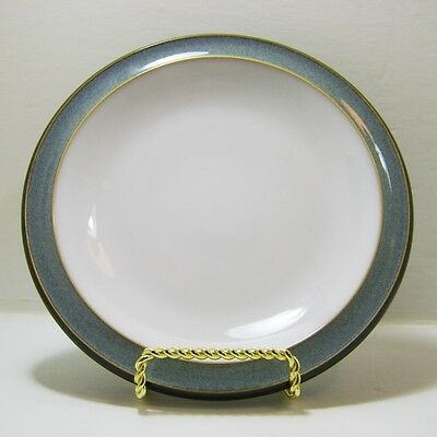 """Denby Jet Grey 7 1/4"""" Side Plate Made in England Stoneware NWT"""