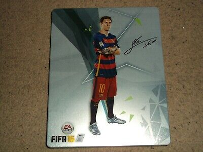 Fifa 16 PS4 Messi Edition special steel book