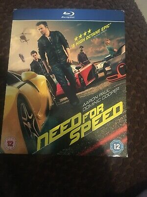 NEED FOR SPEED [2014] (Blu-ray) - £6 99 | PicClick UK