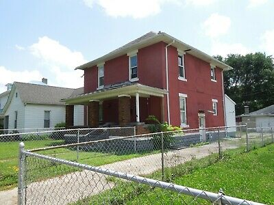 Move In Ready Two Stories 3 Bedroom Corner House Empty Lot Terre Haute Indiana