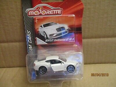 Majorette Premium Bentley Continental Gt  New On Card