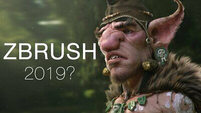 ZBrush 2019 3D digital 🔑Lifetime license FAST DELIVERY WIN or MAC portable