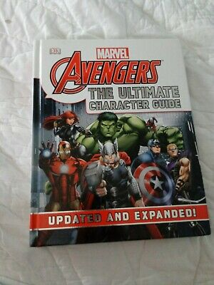 Marvel Avengers the Ultimate Character Guide Updated and Expanded Preowned