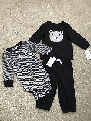 BABY BOYS GIRLS SPANISH KNITTED TOP SUEDE FEEL BOTTOM TEDDY BEAR ROMPER 1 3 6
