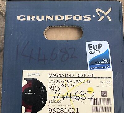 Grundfos MAGNA UPED 40-100 Twin Head Variable Pump 240V 96281021 #1589 VAT INC