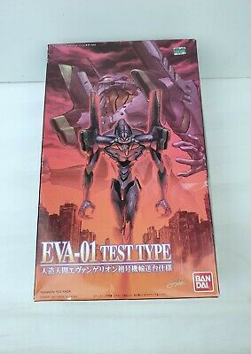 Bandai 1997 EVA-01 Test Type Neon Genesis Evangelion Model Kit Made in Japan