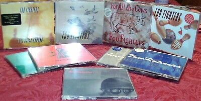 Foo Fighters Import CD Single Lot Rare OOP Hard To Find complete HYPE Nirvana