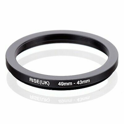 49-43 49mm to 43mm 49-43mm Matel Step-down Stepping Down Ring Filter Adapter