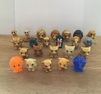 Woolworths Ooshies Disney The Lion King Gold Spirit Sunset Ooshie Collectible