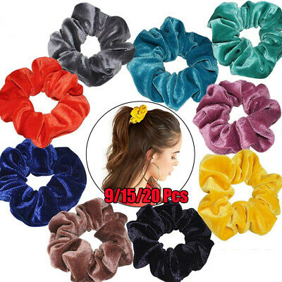 Holder Hair Scrunchie Velvet Scrunchie  Elastic Hair Ties  Hair Rubber Bands