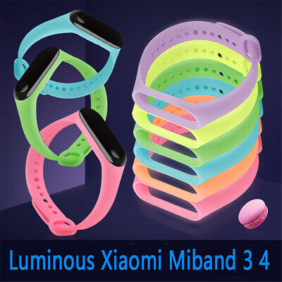 Wristbands Sports Soft Luminous Watch Band Silicone Replacement Bracelet Strap