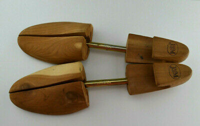Johnston & Murphy Shoe Keeper Pair Size XL Wooden Shoe Stretcher