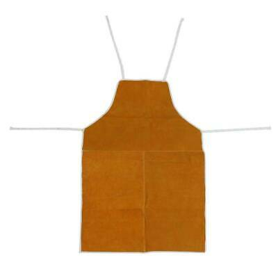 Cow Leather Apron Welding Heat Insulation Protection Blacksmith Practical