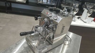 Used One Group Isomac Tea Due Heat Exchange Commercial Coffee Machine