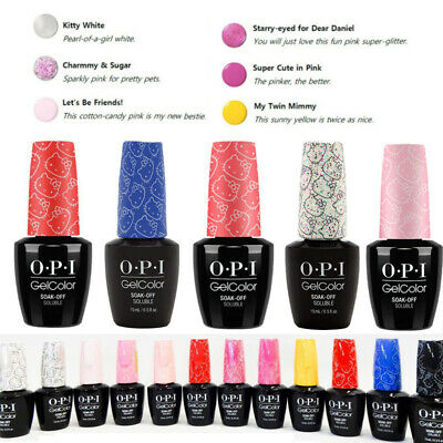 15ML UV&LED Gel Nails Nail Polish Hello Kitty Series OPI GelColor Soak Off Pink