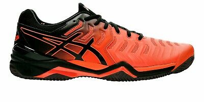 SCARPE TENNIS ASICS Gel RESOLUTION 7 CLAY E702Y801 TERRA SPORT UOMO RED