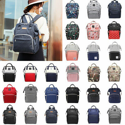 Simple Mummy Maternity Nappy Diaper Bag Large Capacity Baby Bag Travel Backpack