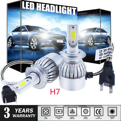 2Pcs For BMW 3 Series E46 Coupe 1999-2006 Low High Beam Xenon H7 Headlight Bulbs