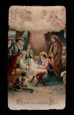 ANTICO Santino Holy Card -  GLORIA IN EXCELSIS DEO