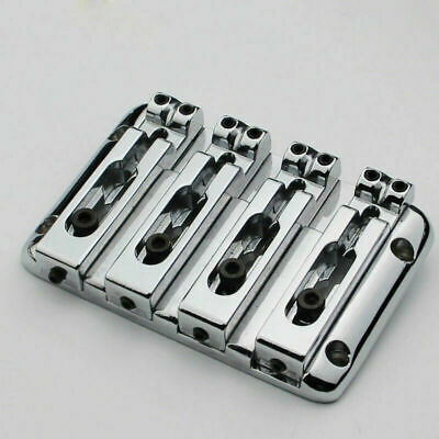 4 String Electric Bass Chrome Bridge For Schecter,Peavey,Washburn,Rogue,ESP LTD