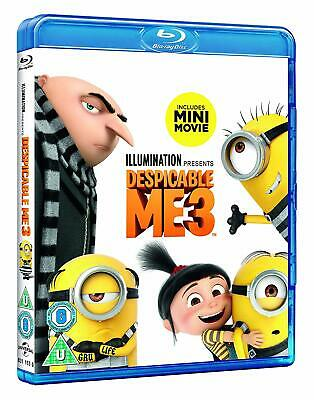 Despicable Me 3 [Blu-ray] [2017] New & Sealed