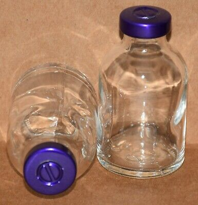 USP 30 mL Clear Sterile Vial With Purple Center Tear Seal ANY QTY