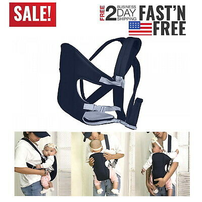 New Baby Carrier Toddler Infant Newborn Holder Front Facing Chest Carrier Soft