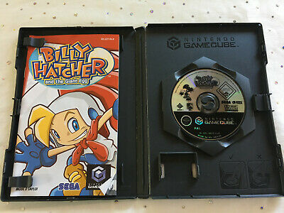 jeu vidéo Billy Hatcher and the Giant Egg boite et notice nintendo gamecube
