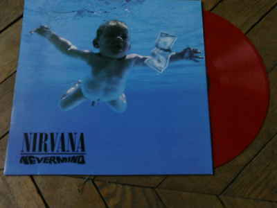 NIRVANA Nevermind LP VYNIL COULEUR 12 titres Hollande