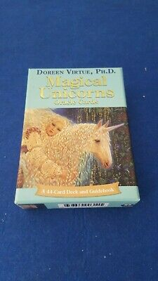 Magical Unicorns  Oracle Card 44 Deck + Guidebook By Doreen Virtue