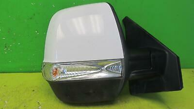 plate Left side Wide Angle Wing mirror glass for Fiat Doblo mk2 2010-18 heated