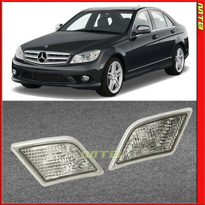 FOR MERCEDES BENZ W204 C300 C350 C63 Clear Lens Turn Signal