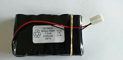 10X AA NiMH 7.2v 2400mAh Battery Spare Pack & Plug for Toys Power Bank G.P. 7.2V
