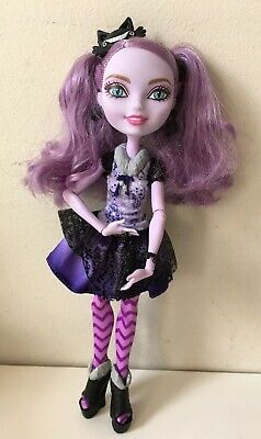 Ever After High Kitty Cheshire Basic Doll Complete EUC