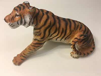 """Tiger - Animal Statue Laying Down for Home Decor 6"""" Length x 3 1/2"""" Tall x 3"""" Wi"""