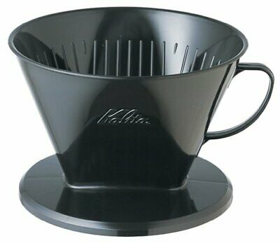 *Carita coffee dripper plastic 7 to 12 people for 104-KP black # 07007