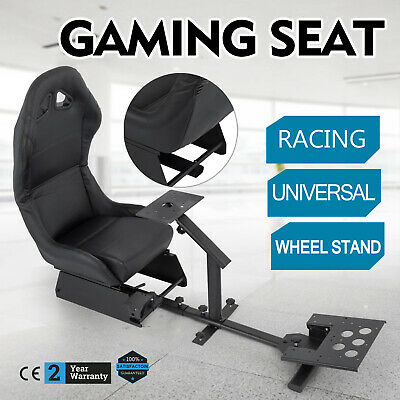Racing Simulator Steering Wheel Stand For Logitech G29 Cockpit Seat Gaming Chair