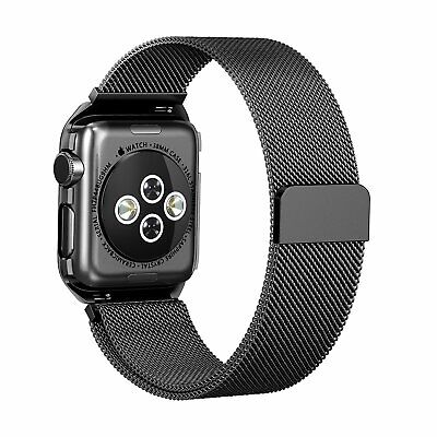 For Apple Watch Series 4/3/2/1 Milanese Loop Band Sport Band  42mm/38mm