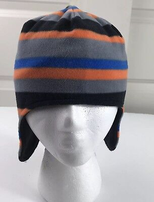 8f6e76fa4 CAT & JACK Kids Skull Beanie Winter Hat - Blue/Yellow/Gray - $8.54 ...