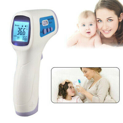 Numerique Thermometre Infrarouge Bebe Adulte Front Sans contact Thermometre