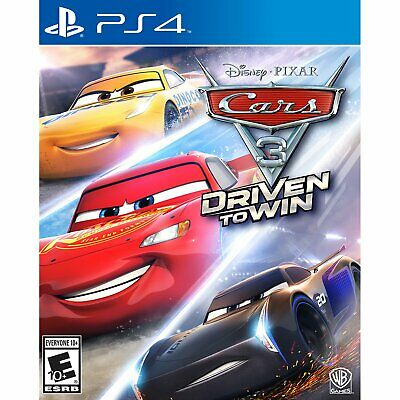 Cars 3: Driven to Win PS4 (Sony PlayStation 4, 2017) Brand New - Region Free