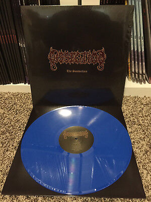 DISSECTION - THE SOMBERLAIN - BLUE VINYL - LP RECORD emperor mayhem darkthrone