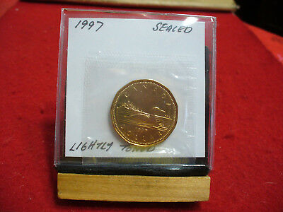 1997  Canada  Dollar  Coin  Loonie Top Grade  See Photos  97  Proof Like  Sealed