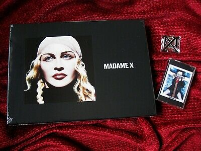 Madonna Madame X Limited Box Set Cd Picture Disc Cassette K7 Vinyl Chain Promo
