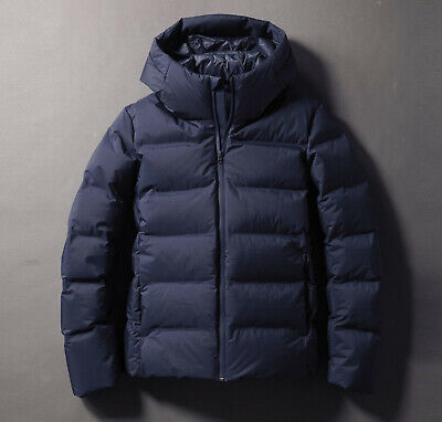 NWT UNIQLO MEN Seamless Down Coat Water Repellent Puffer