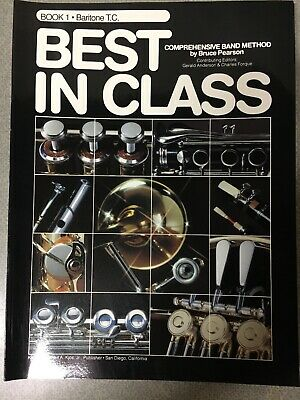 Book 1 Baritone T.C. Best In Class Comprehensive Band Method By Bruce Pearson