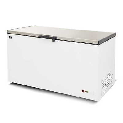Stainless Lid Chest Freezer - 450 Litres