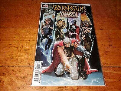 War of the Realms Omega #1 Marvel NM/NM- Comic Book 1st Jane as Valkyrie